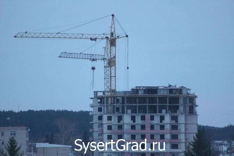 Дом строится