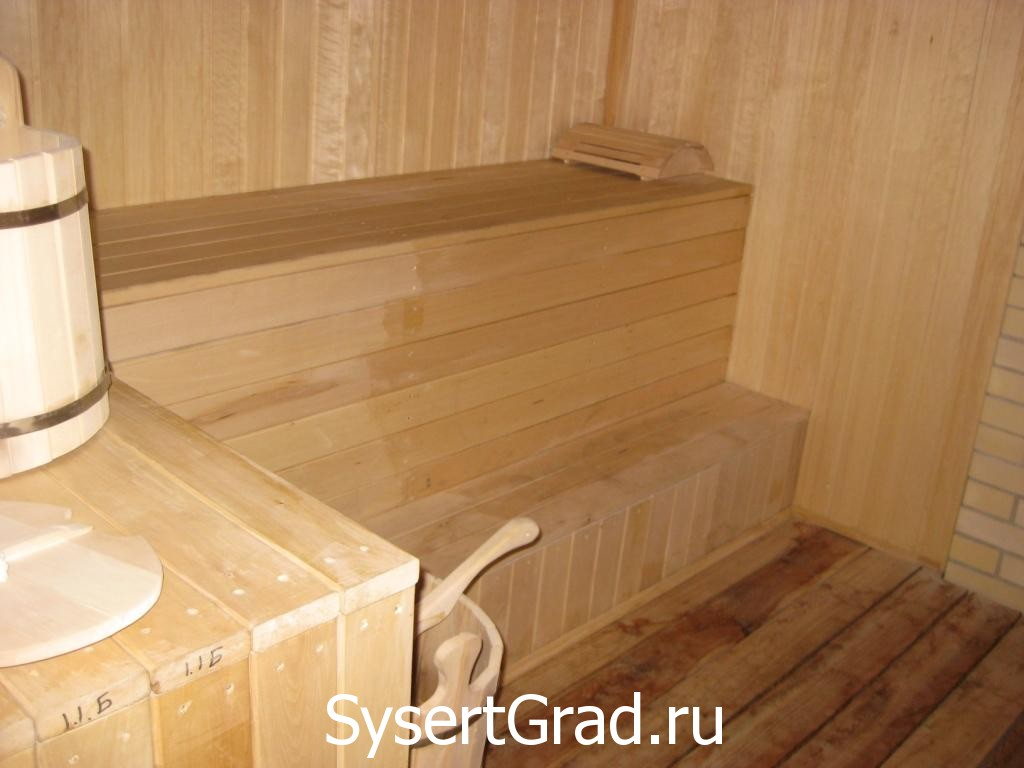 Sauna restoranno-gostinichnogo kompleksa Smirnov