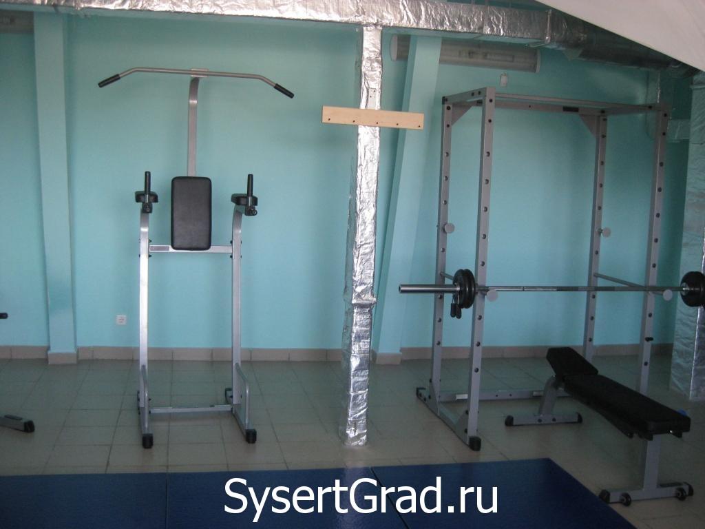 Trenazhernyj zal restoranno-gostinichnogo kompleksa Smirnov