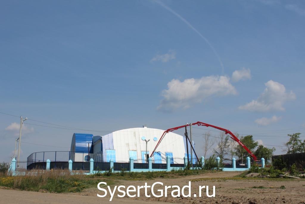 Спортивный комплекс в Сысерти строится