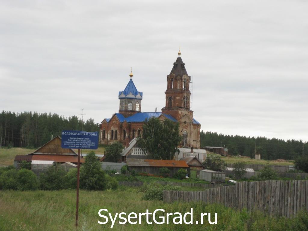 Церковь в селе Новоипатово