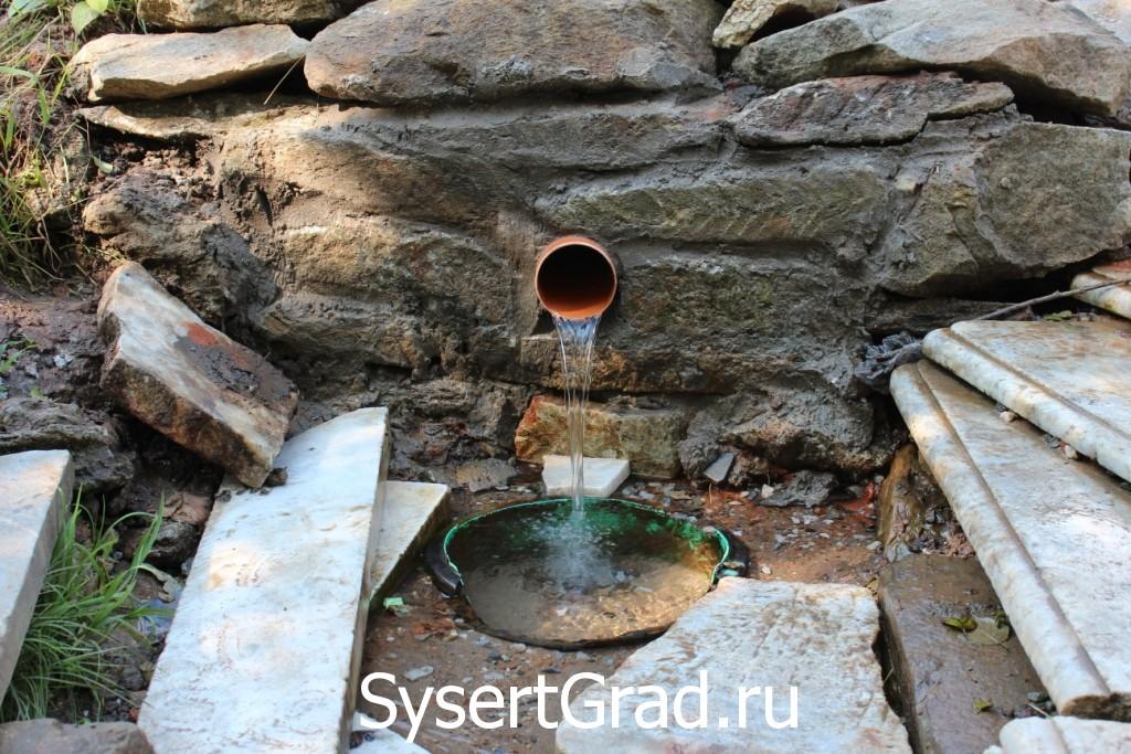 Потопаевский ключик источник чистой воды