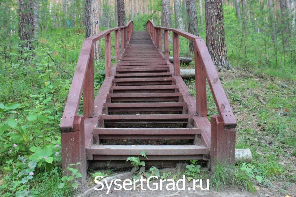 Лестница по дороге на Тальков камень