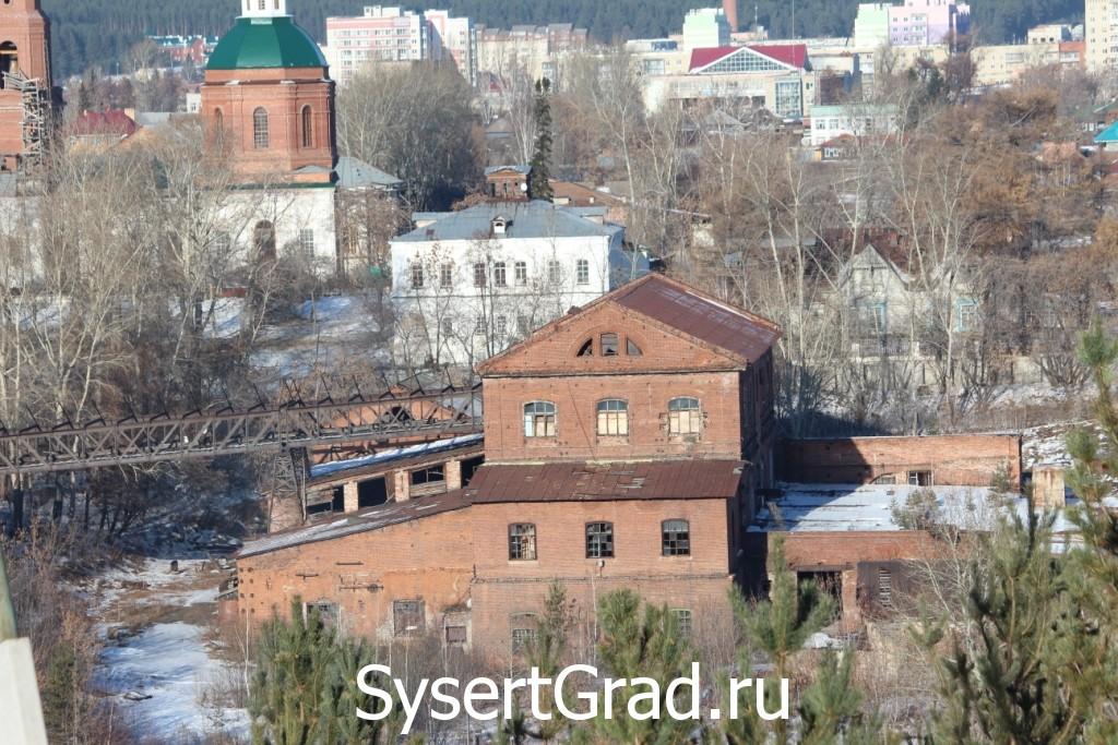 Железоделательный завод графа Турчанинова в Сысерти