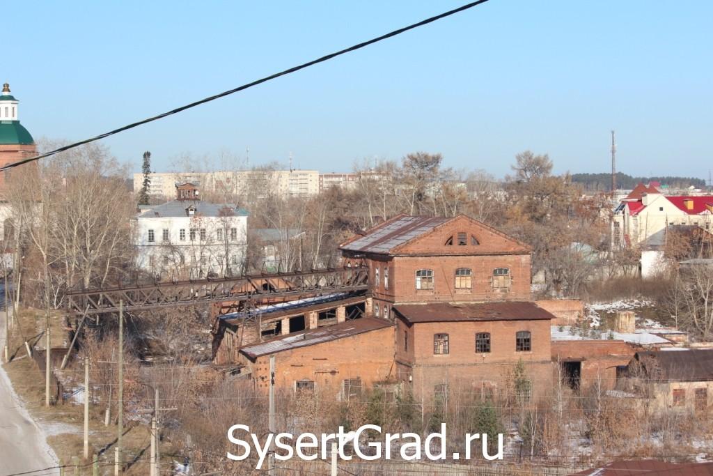Железоделательный завод Сысерти