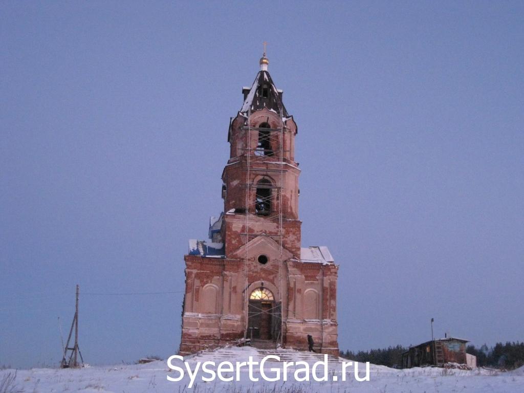 Церковь Михаила Архангела восстанавливают