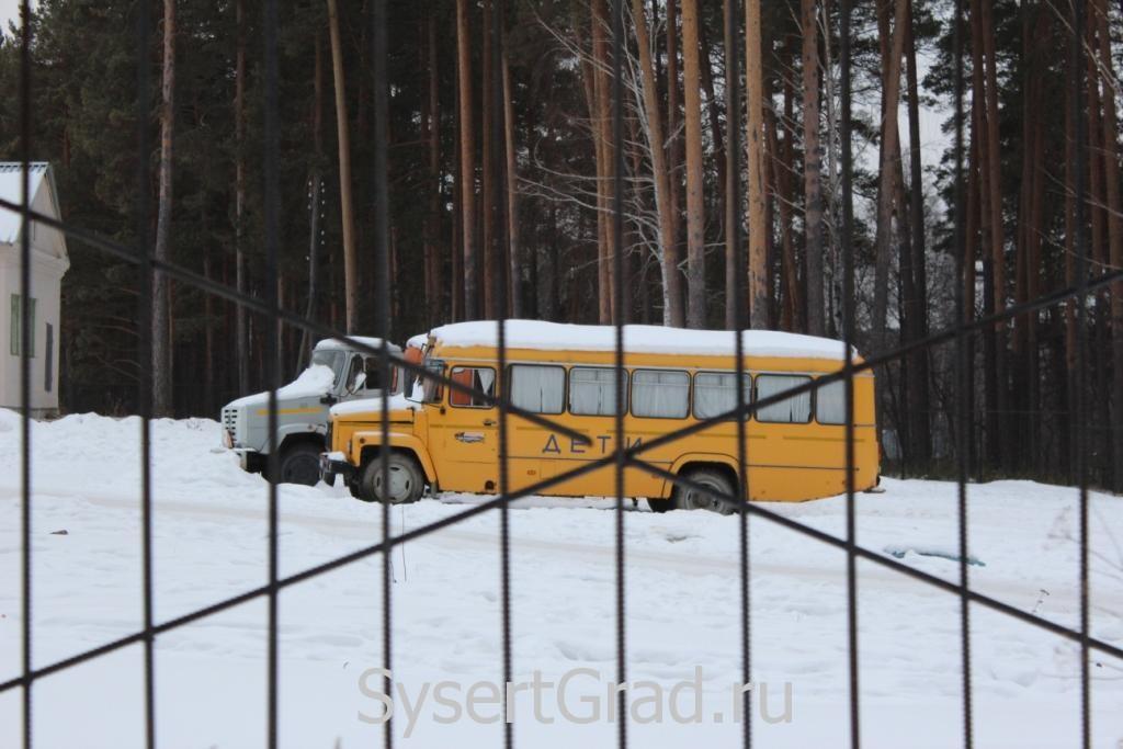 Автобус Сысертской школы-интерната