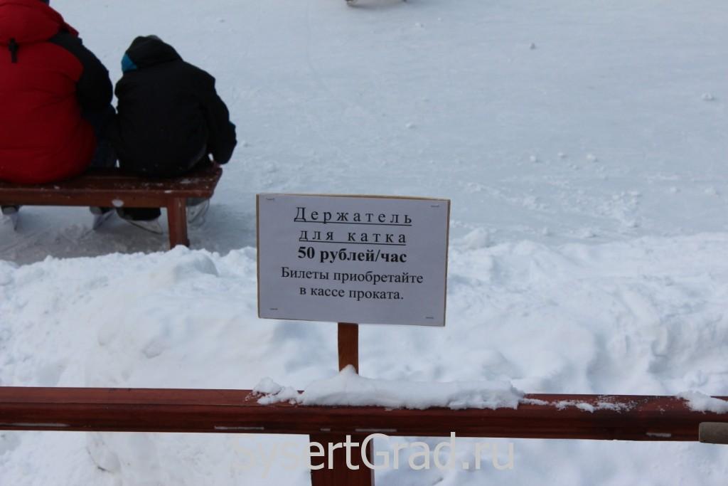 Держатель для катка 50 рублей в час
