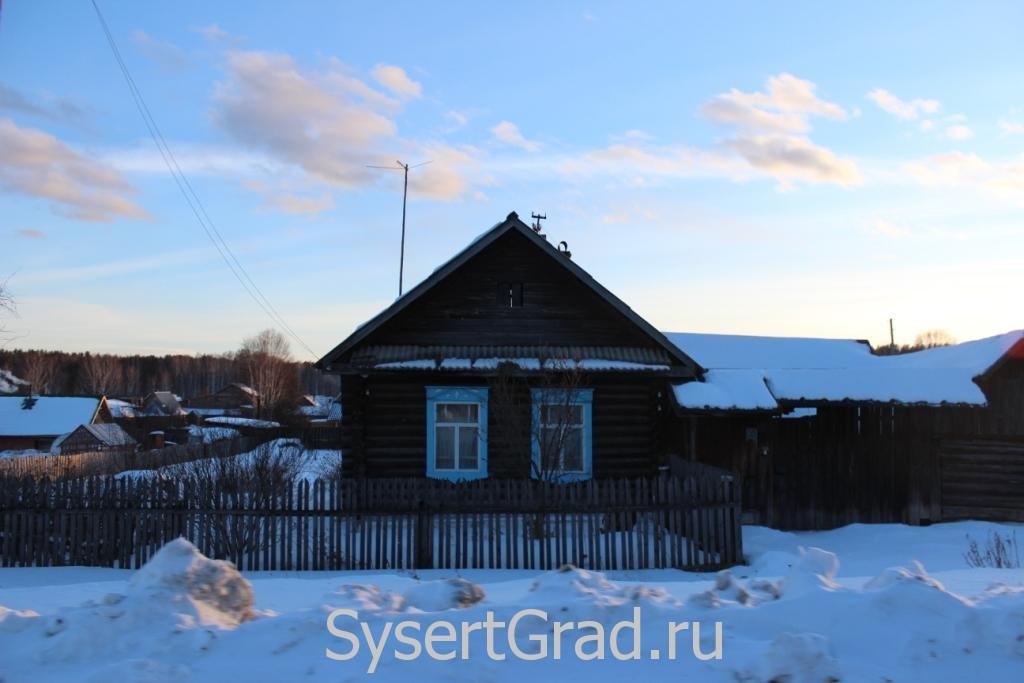 Скромный домик в поселке Асбест
