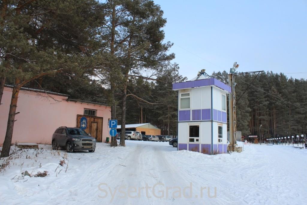 Стоянка в спортивно-оздоровительном центре СОВА село Кашино