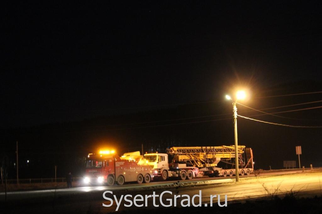 Эвакуация грузовика на трассе М5