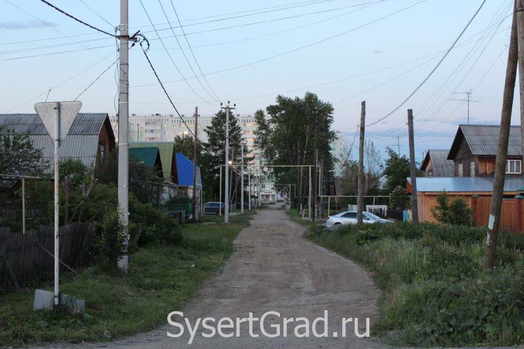 Улица Добролюбова в Сысерти