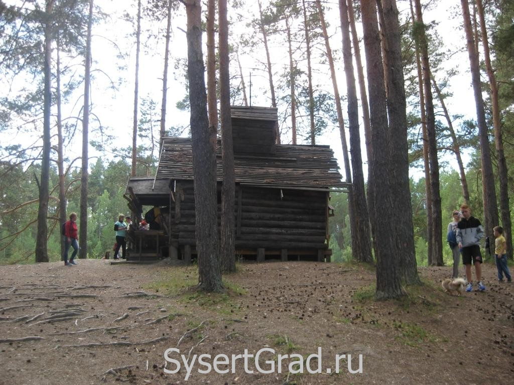 Строение на Тальков камне после съемок фильма