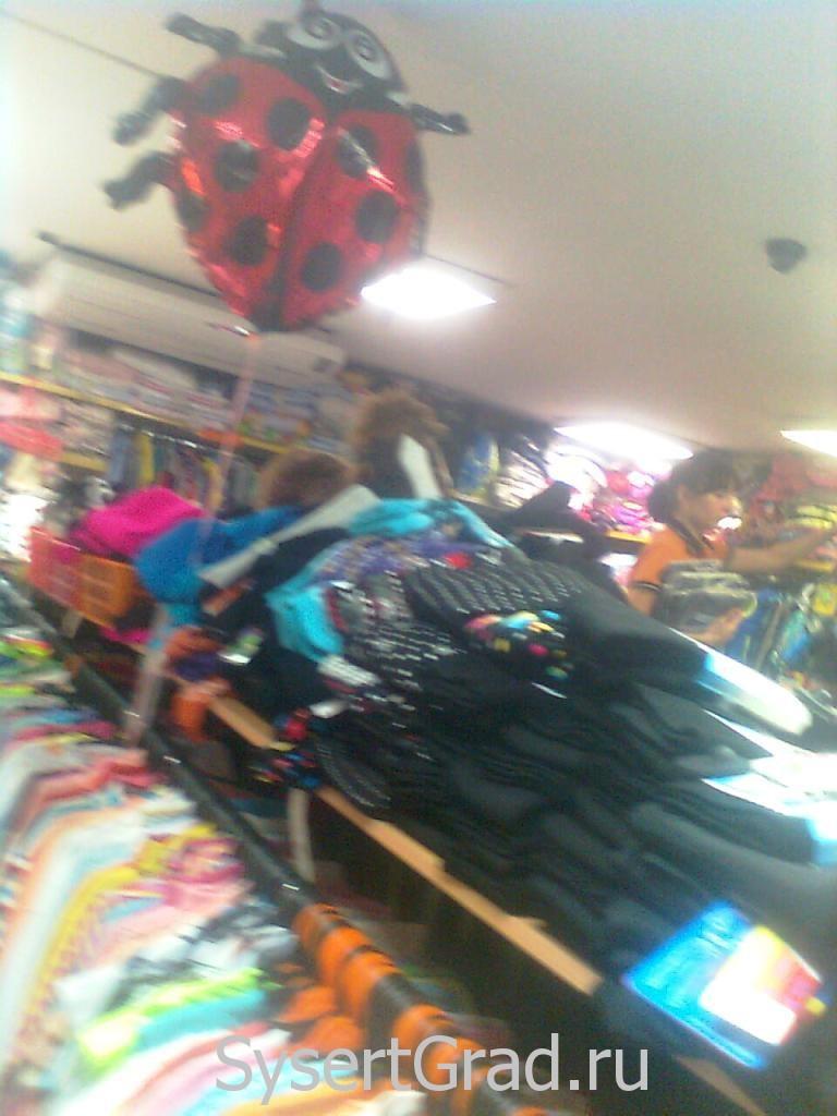 Торговый зал в магазине Теремок