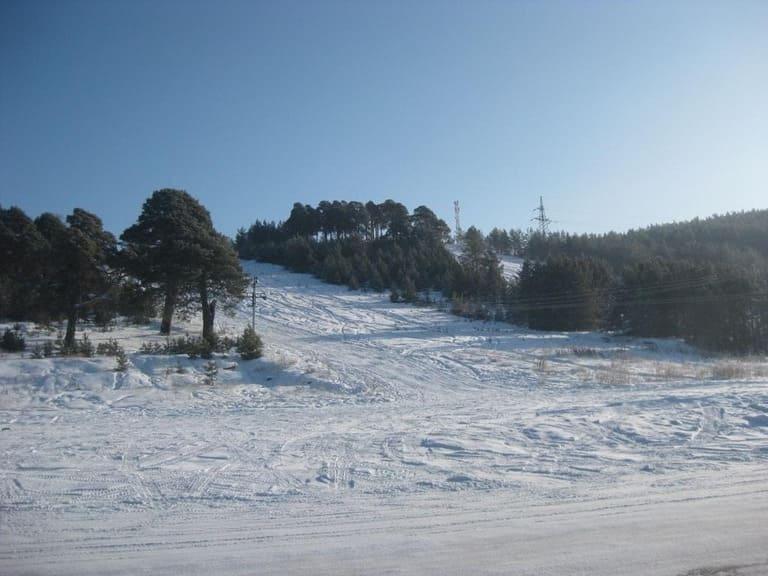 Сысерть гора Бессонова зима