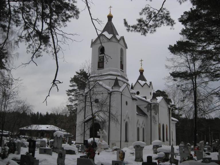 Сысертская церковь