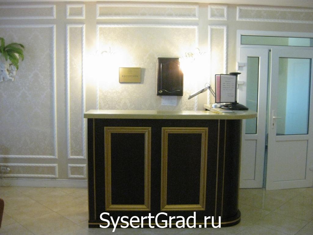Ресепшн ресторанно-гостиничного комплекса Смирнов