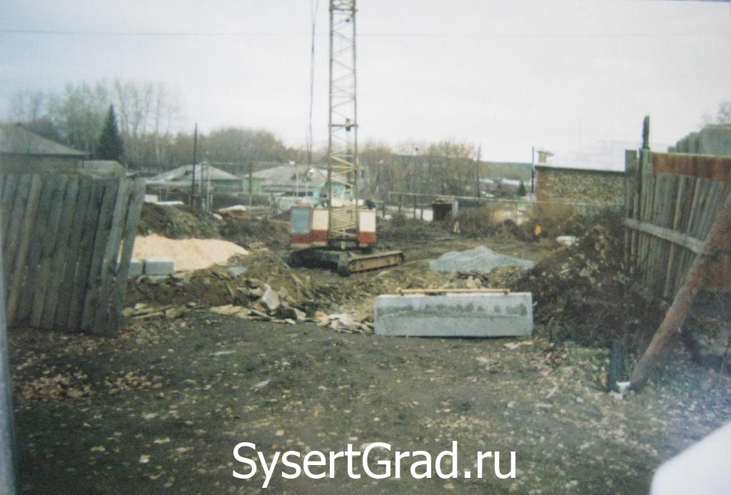 """Ресторанно-гостиничный комплекс """"Смирнов"""" 2006 год начало строительства"""