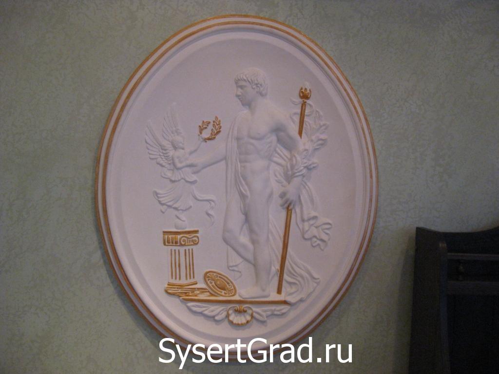Русский зал оформление стен 2