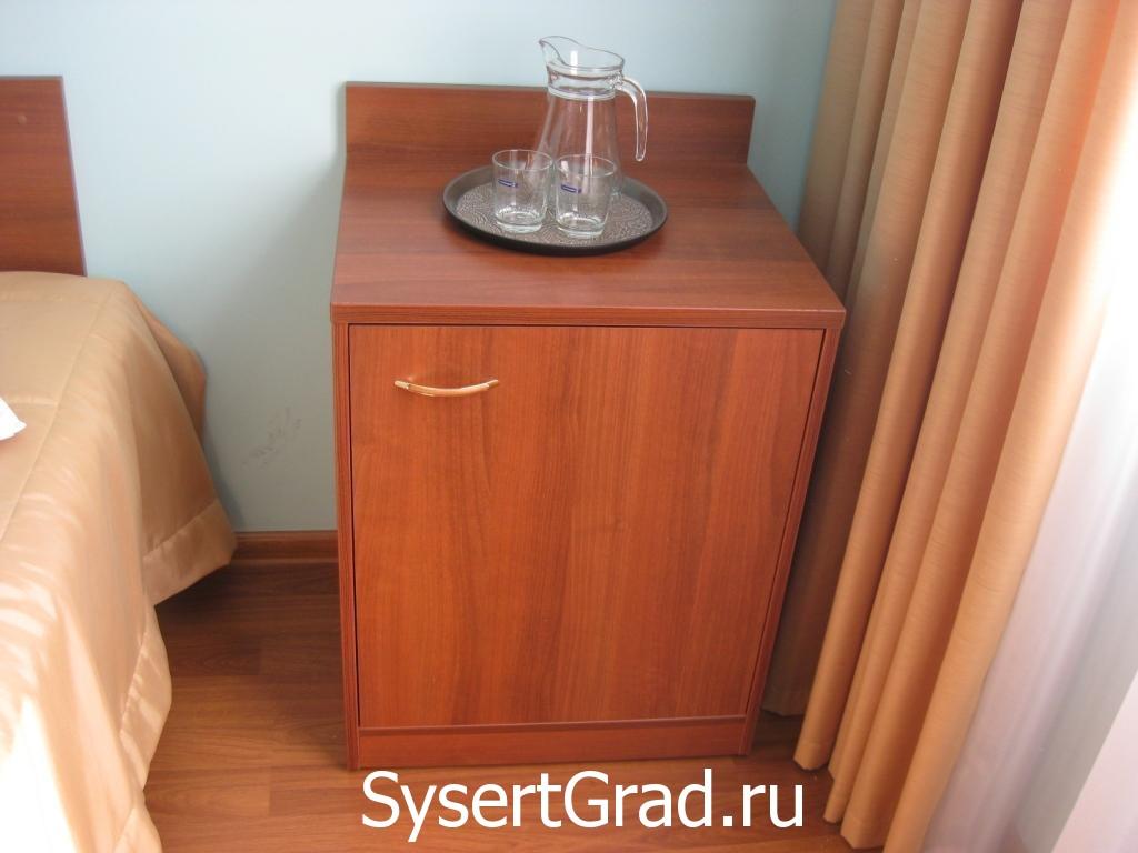 Tumbochka gostinichnogo nomera v restoranno-gostinichnom komplekse Smirnov
