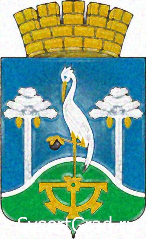 Цапля с герба Сысертского района