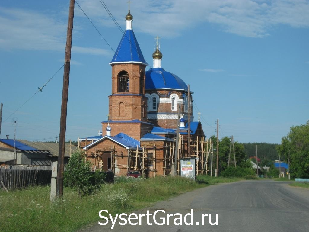 Церковь в селе Абрамово