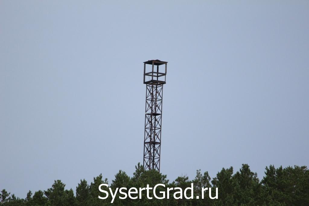 Пожарная вышка на Бесёновке