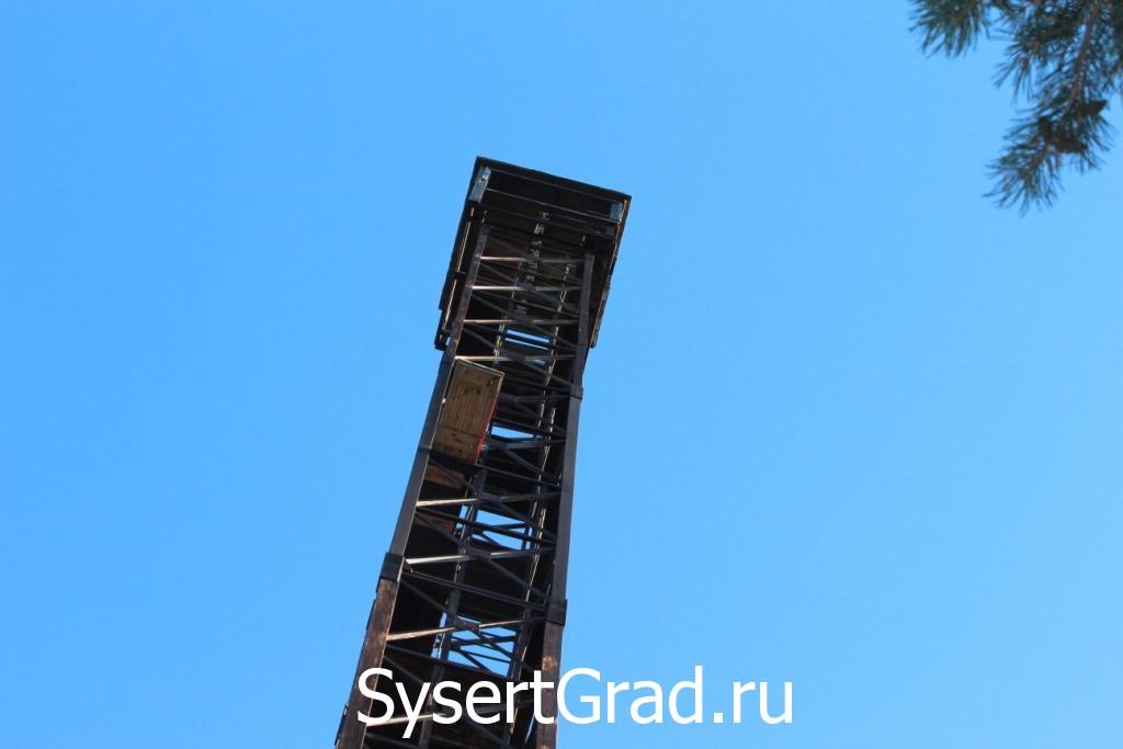 Странный мостик на Сысертской вышке