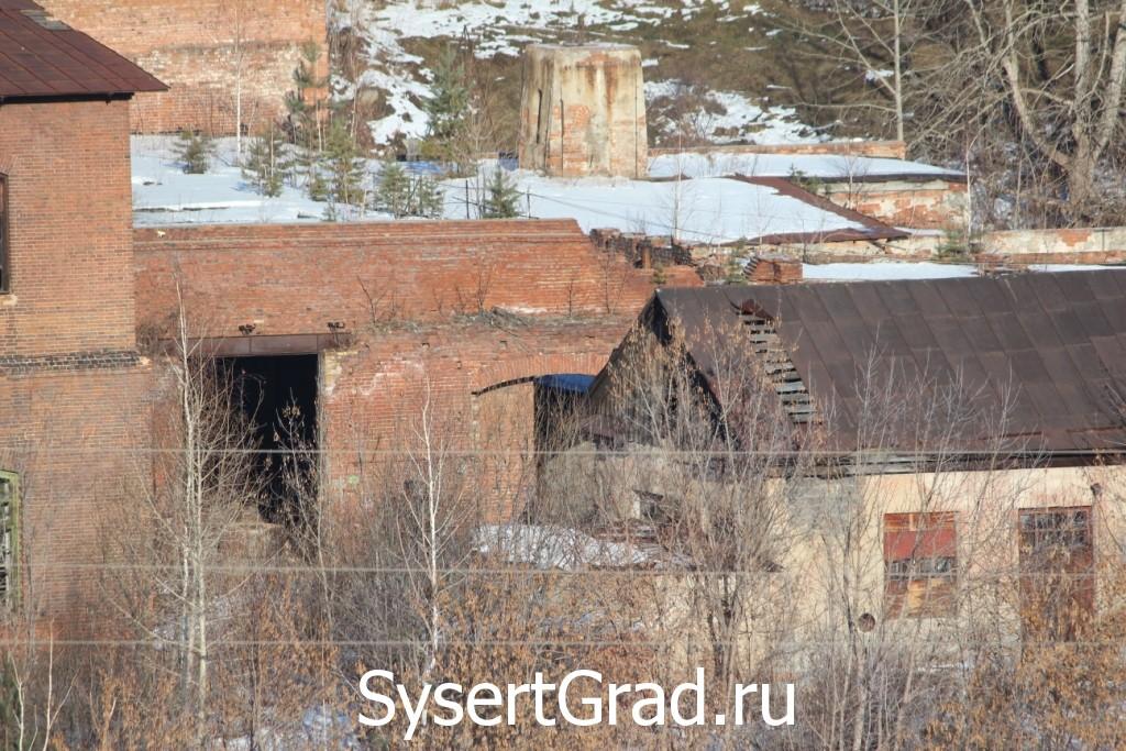 Подсобное помещение завода в Сысерти