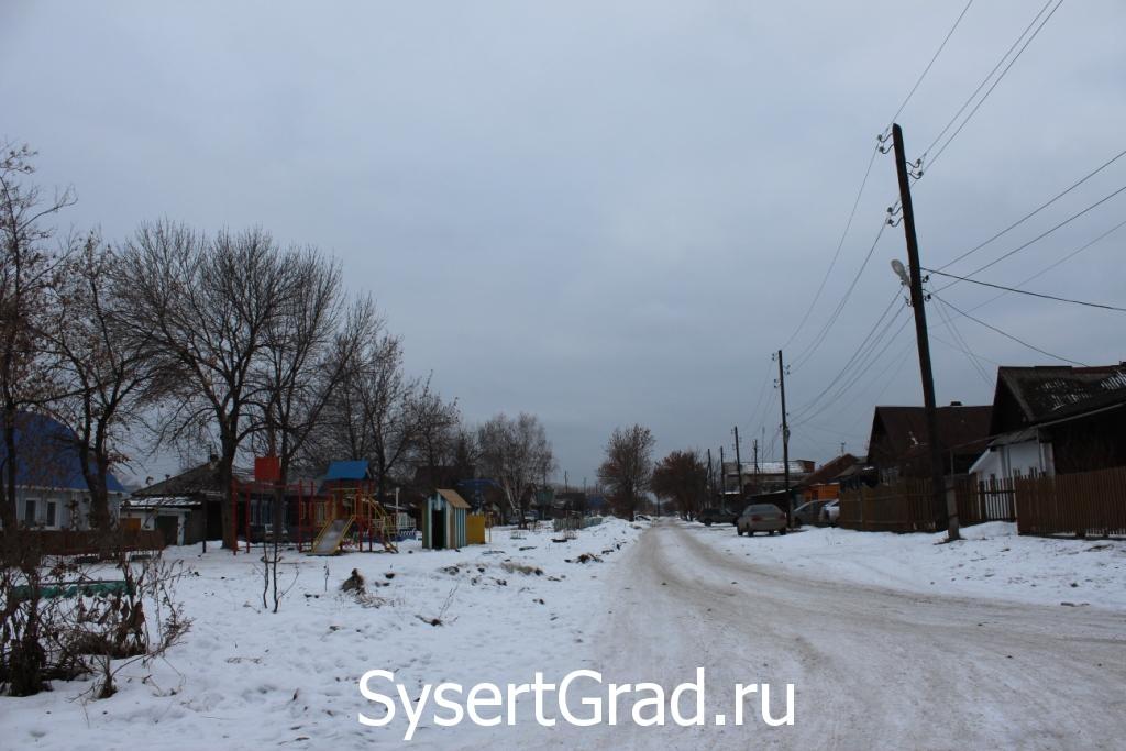 Улица Урицкого район Рым в Сысерти