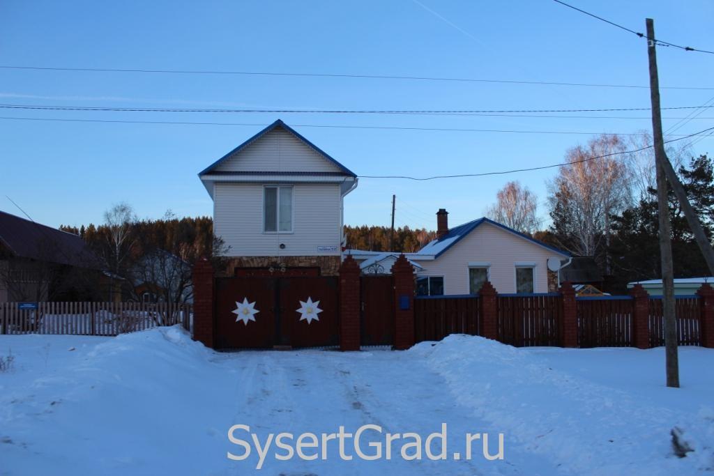Дом по улице Ленина в поселке Асбест