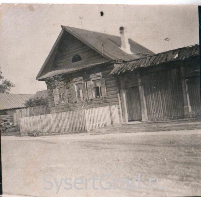 Один из домов старой Сысерти
