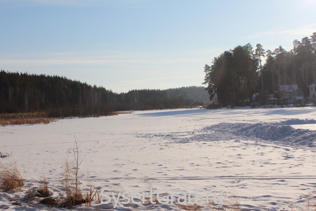 Река Габиевка возле поселка Школьный