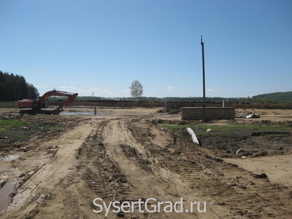 Строительство ДДОУ на 270 мест в Большом Истоке на Парниковой, 14