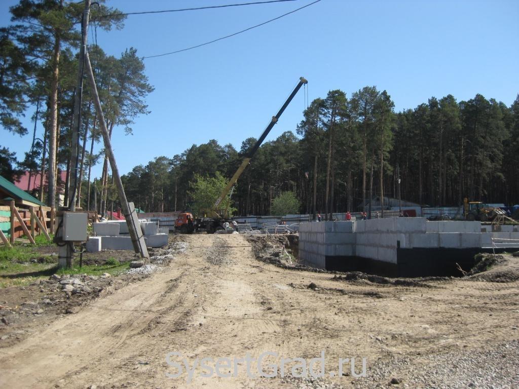 Строительство детского сада в Октябрьском