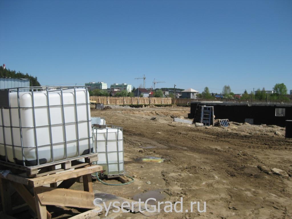 Строительство детского сада в Сысерти