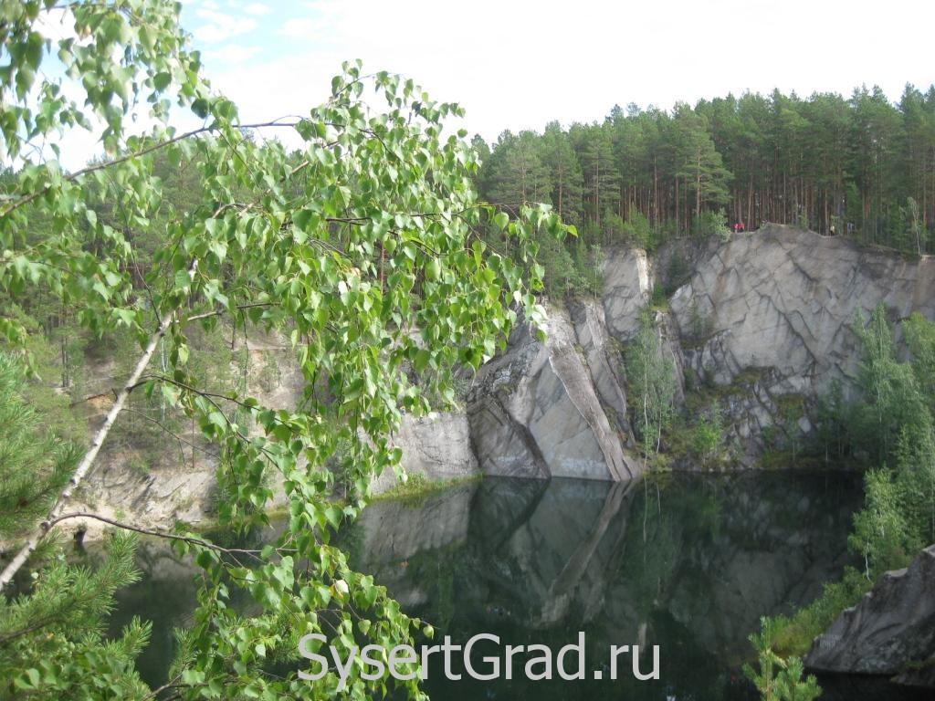 Живописные места рядом с Сысертью на Тальков камне