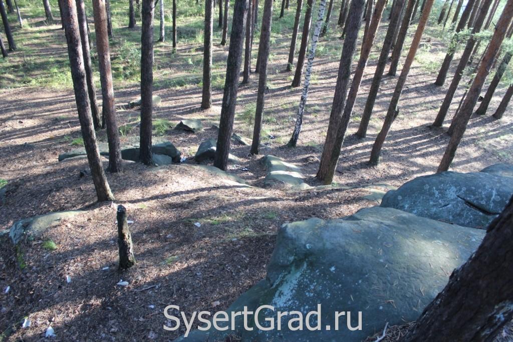 Восхождение на камни - поселок Северка
