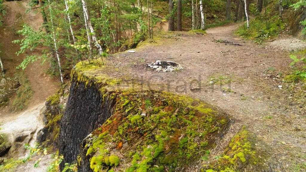 Выбираем место для пикника на тальков камне