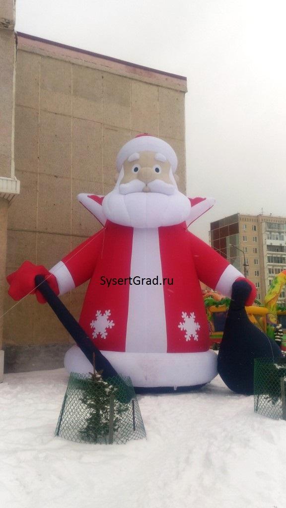 Дед мороз Сысерть 2020