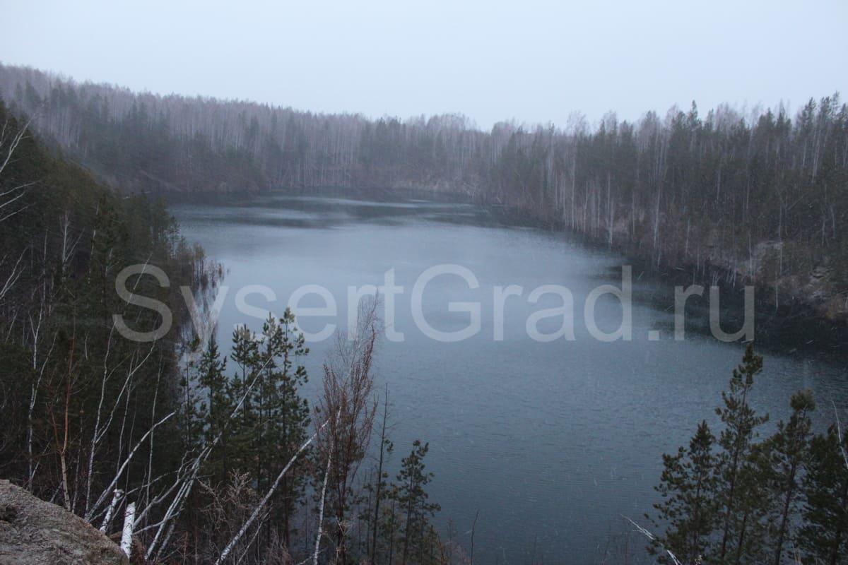 Тальковый карьер в Шабровском