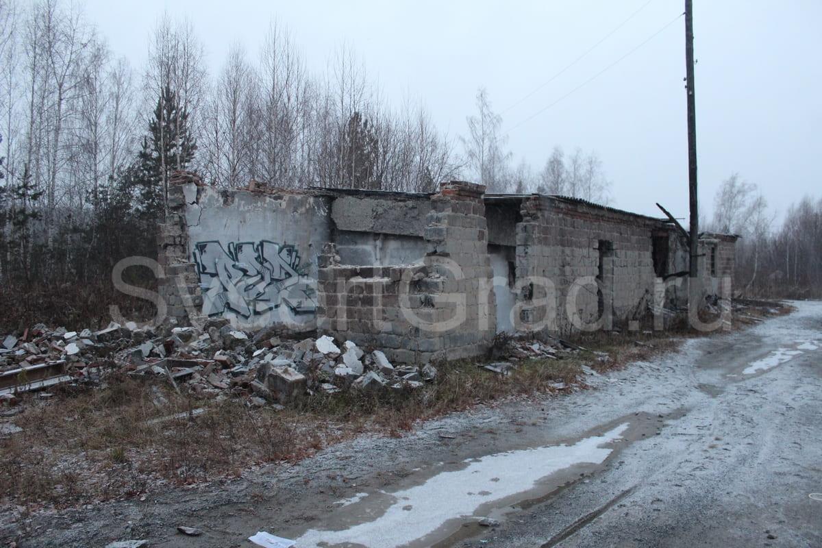 Развалины здания