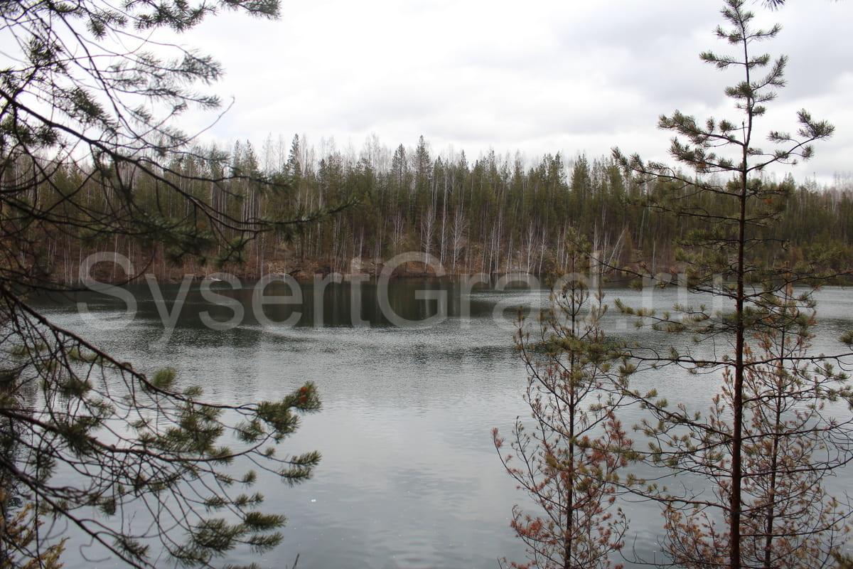 Озеро в Шабрах Екатеринбург вид