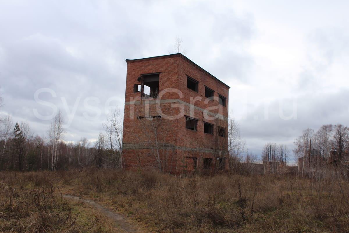 Заброшенное здание на комбинате